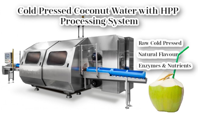 Cold Pressed Coconut Water